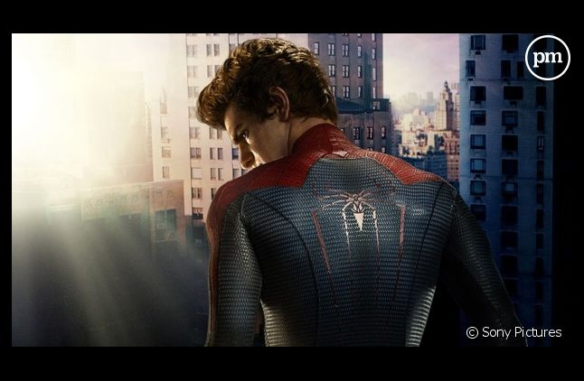 "Andrew Garfield dans ""The Amazing Spider-Man"""