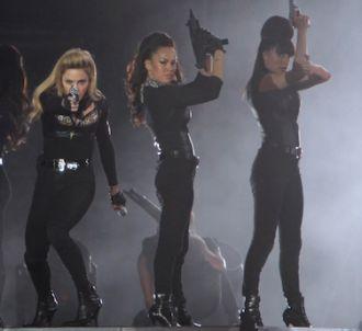 Madonna sur la scène du Stade de France