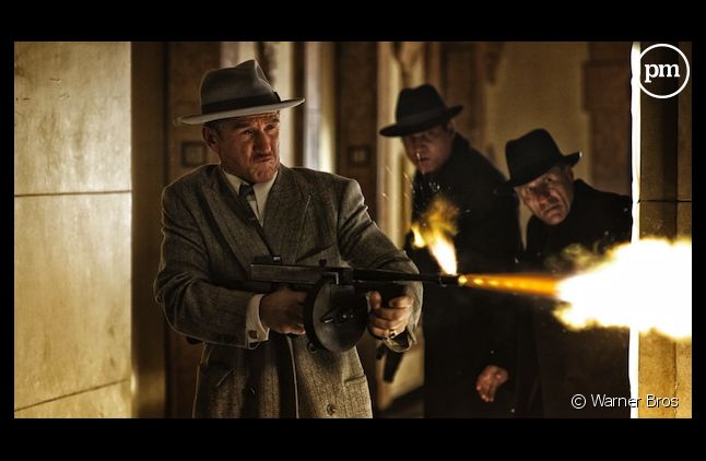 "Scène du film ""Gangster Squad"" avec Sean Penn et Ryan Gosling"