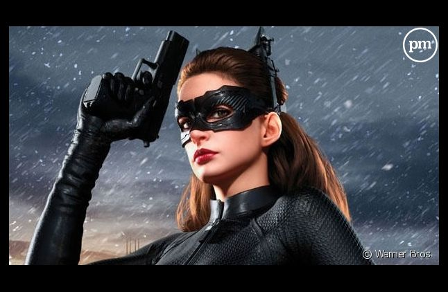 "Anne Hathaway dans ""The Dark Knight Rises"""