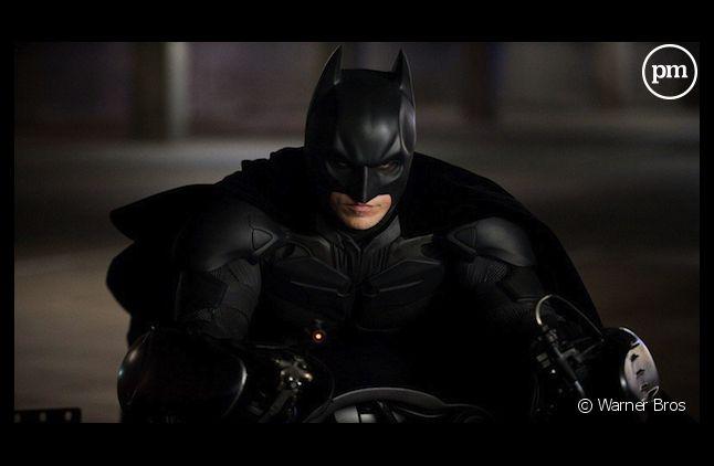 "Scène du film ""The Dark Knight Rises"" de Christopher Nolan"