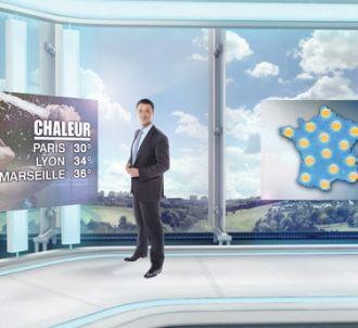 La nouvelle météo de France 2 dans un nouveau décor...