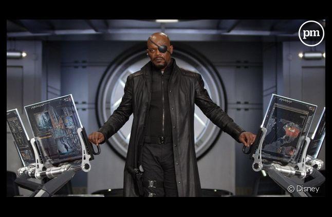 """Samuel L. Jackson est le patron du SHIELD dans """"Avengers"""""""