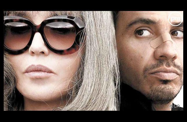 """Isabelle Adjani et Alexandre Astier sur l'affiche de """"David et Madame Hansen"""""""
