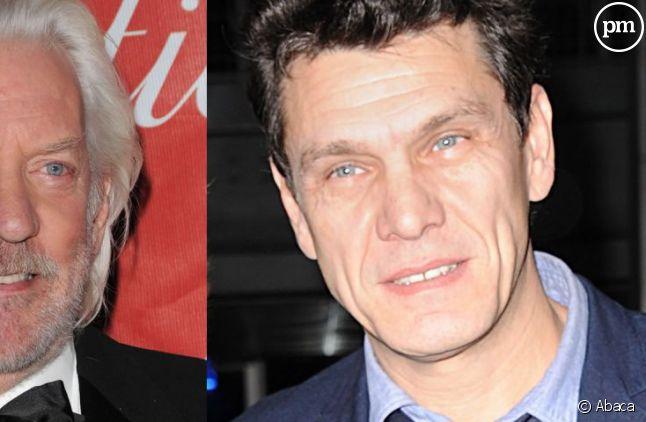 Donald Sutherland et Marc Lavoine