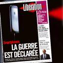 Le nouvel iPhone 5 à la Une de Libération jeudi.
