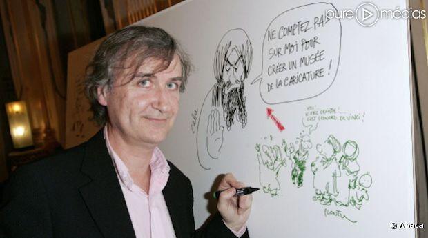 40 ans que les dessins de Plantu sont publiés dans le Monde.