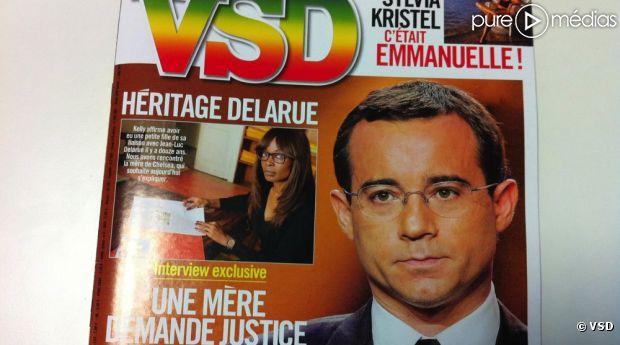 La Une du VSD daté du 25 octobre 2012