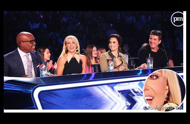 """Britney Spears : pourquoi porte-t-elle une oreillette dans """"The X Factor"""" ?"""