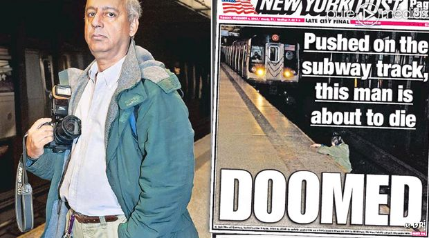 photo une couverture new york post