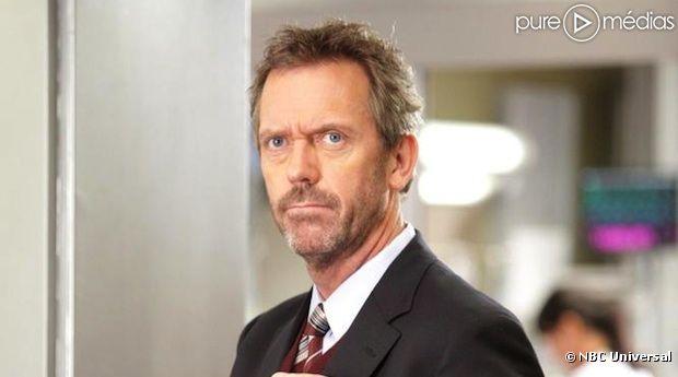 """Hugh Laurie est le docteur Gregory House dans """"Dr House"""""""