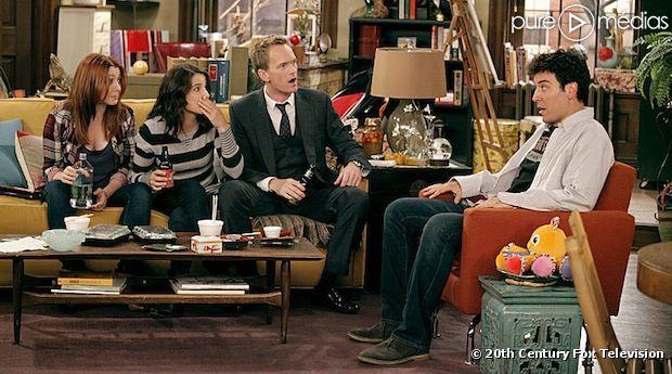 """Le cast de """"How I Met Your Mother"""" rempile pour une neuvième et ultime saison"""