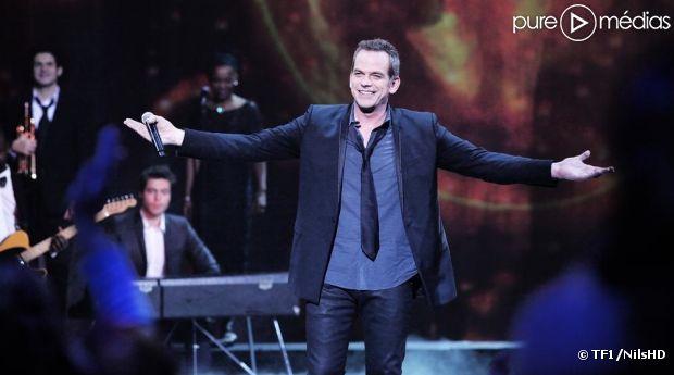 """Garou sur le plateau de """"La chanson de l'année"""" 2012 sur TF1"""