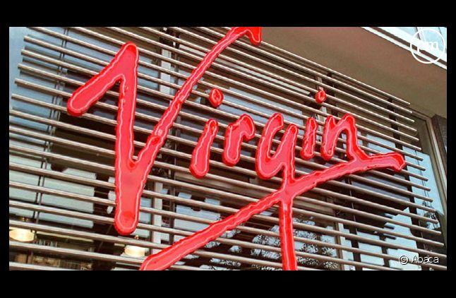 La devanture d'un magasin Virgin Megastore.