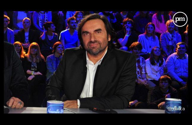 """André Manoukian, hier sur le plateau de """"Nouvelle Star""""."""