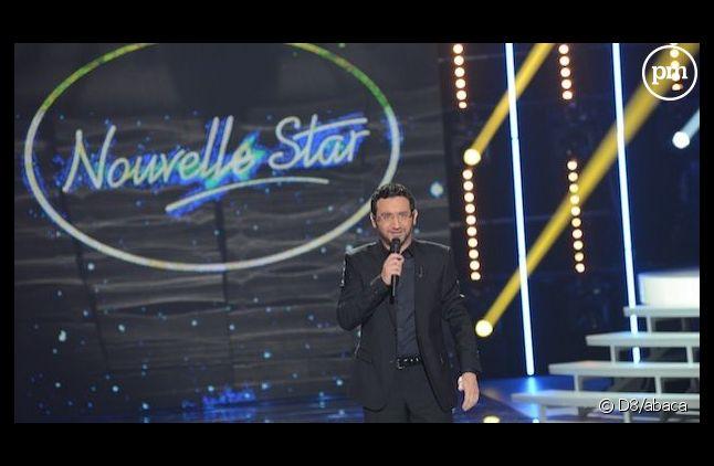 """Cyril Hanouna sur le plateau de """"Nouvelle Star"""" sur D8"""