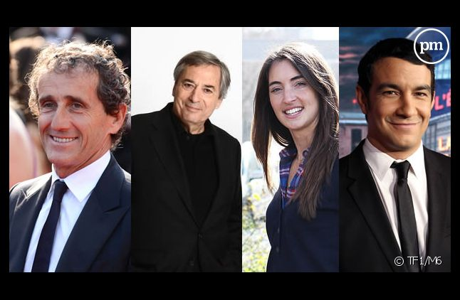 Alain Prost, Jean-Louis Moncet, Margot Laffite et Thomas Thouroude