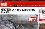 """Paris Match publie """"la photo qui confirme la mort"""" d'Abou Zeid"""