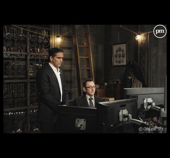 """Jim Caviezel et Michael Emerson sont les deux héros de la nouvelle série de TF1 """"Person of interest""""."""