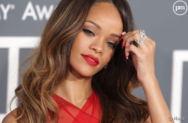 Rihanna lors des Grammy Awards 2013