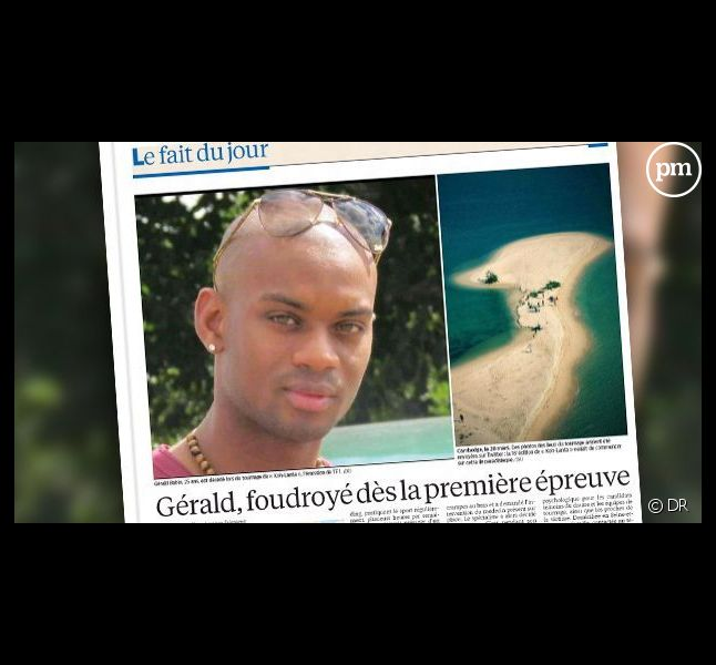"""Gérald Babin est décédé au premier jour de tournage de """"Koh Lanta""""."""