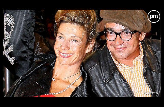 Frigide Barjot et son beau-frère, Karl Zéro.