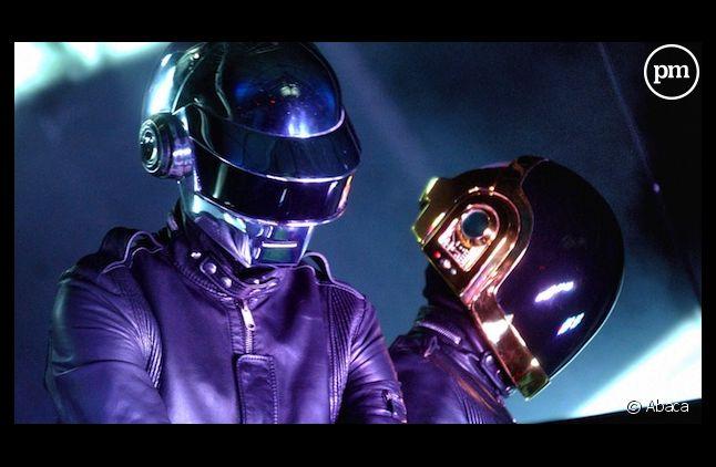 """Daft Punk signe le record de ventes de l'année avec """"Get Lucky"""" outre-Manche."""