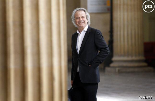 """Franz-Olivier Giesbert, patron de l'hebdomadaire """"Le Point""""."""