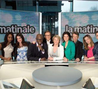 L'équipe de 'La matinale' de Canal+.