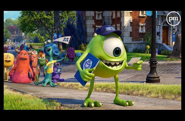 """Monstres Academy"" reste en tête du box-office américain"