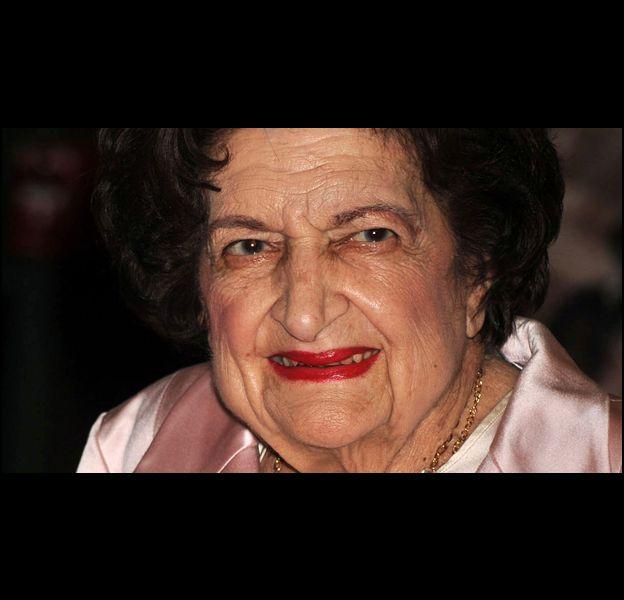 La journaliste Hélène Thomas, décédée à l'âge de 92 ans.