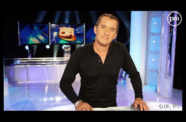 """Christophe Dechavanne dans """"Une famille en or"""" sur TF1"""