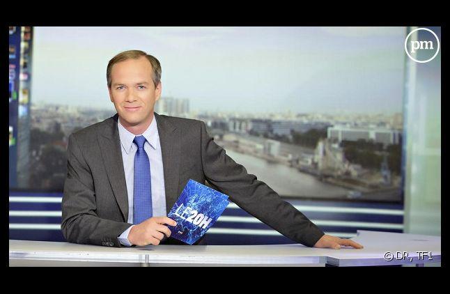 Julien Arnaud au JT de 20 Heures de TF1