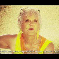 Lucienne Moreau, 80 ans, fait un car-wash sexy pour la matinale de Virgin Radio
