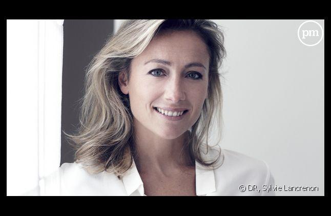 """Anne-Sophie Lapix, animatrice de """"C à vous"""" sur France 5."""