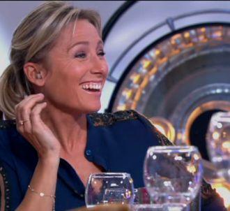 Anne-Sophie Lapix, dans 'C à vous' sur France 5.