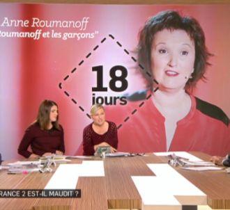 Anne-Elisabeth Lemoine, sur Canal+ (chronique à 14'11').
