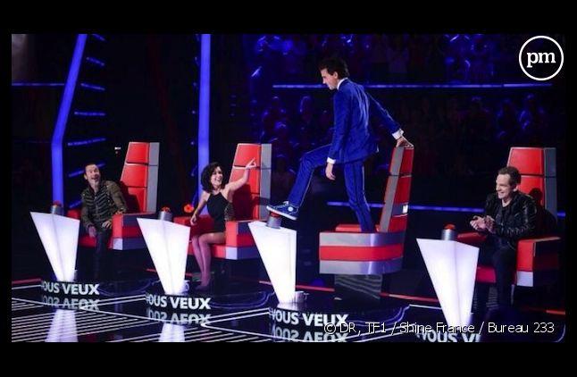"""Un rideau blanc peut cacher les talents de """"The Voice"""" 3"""