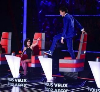 Un rideau blanc peut cacher les talents de 'The Voice' 3