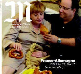 Des sosies de Francois Hollande et Angela Merkel en Une...