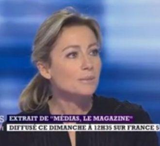 Anne-Sophie Lapix revient dans 'Médias le Magazine' sur...