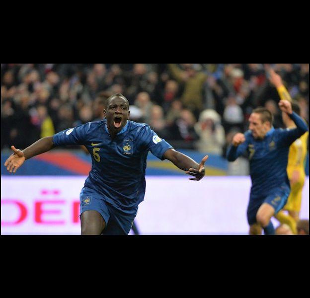 Mamadou Sakho lors du match France/Ukraine