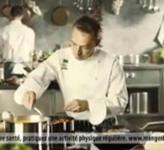 Publicité Knorr avec un chef