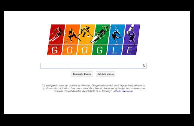 Google défend la cause homosexuelle pour l'ouverture des JO de Sotchi