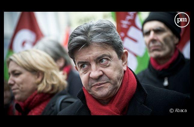 Jean-Luc Mélenchon s'en prend de nouveau au<em> Monde</em>