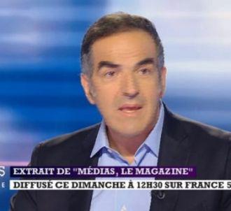 Christopher Baldelli dans 'Médias le magazine' sur France 5