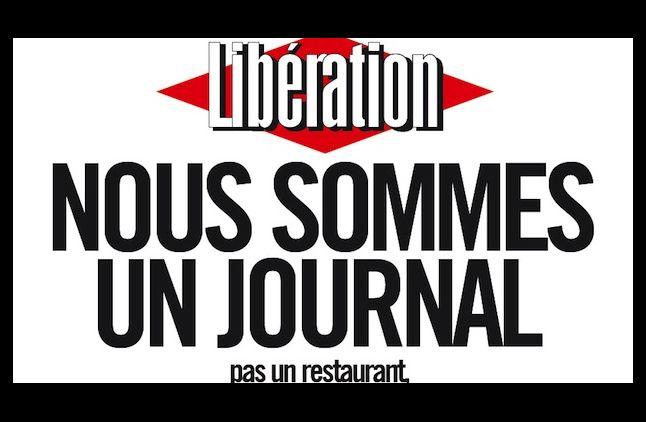 """La crise continue à """"Libération"""""""