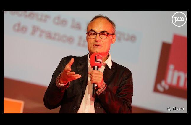 Philippe Val a évoqué son possible départ aux salariés de France Inter