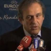 Après son dérapage, Michel Platini protégé par les médias français ?