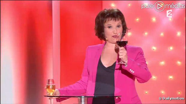 Le sketch d 39 anne roumanoff dans vivement dimanche vid o for Jean dujardin deprime